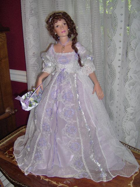 Lillian in Lavender - by Patricia Rose - Retired