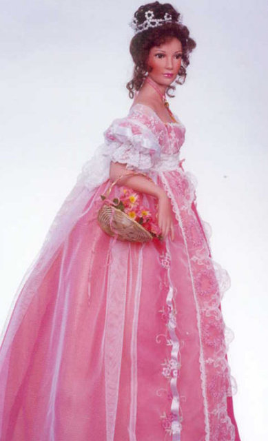 Lillian in Coral - by Patricia Rose - Retired