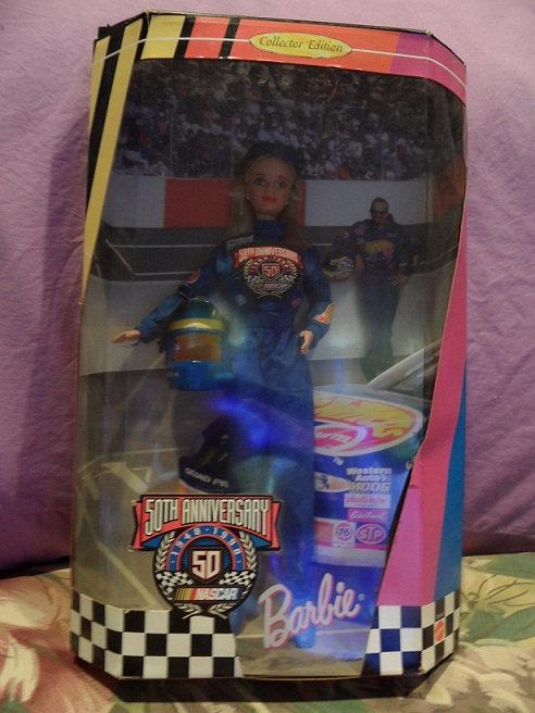 NASCAR 50th Anniversary Barbie