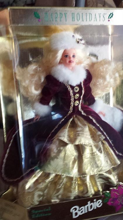 Happy Holidays - Blonde - NRFB