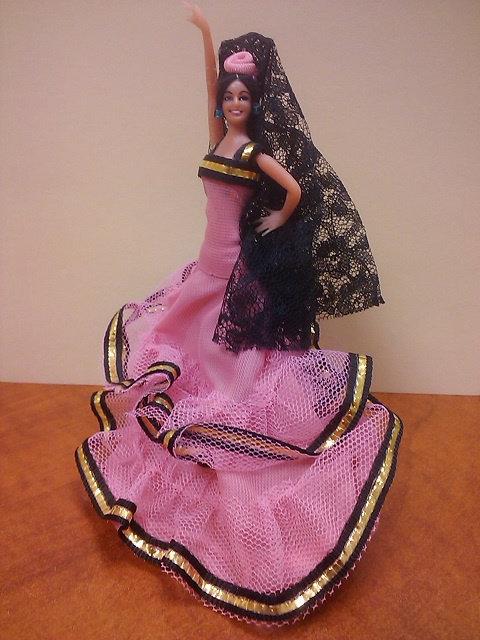 Spanish Dancer -- pink