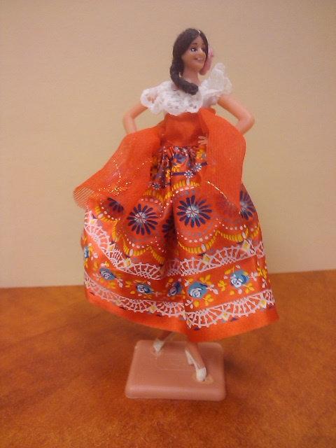 Spanish Dancer -- floral