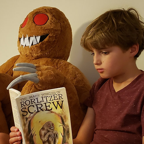 """""""The Many Worlds of Rorlitzer Screw"""" Paperback Book"""