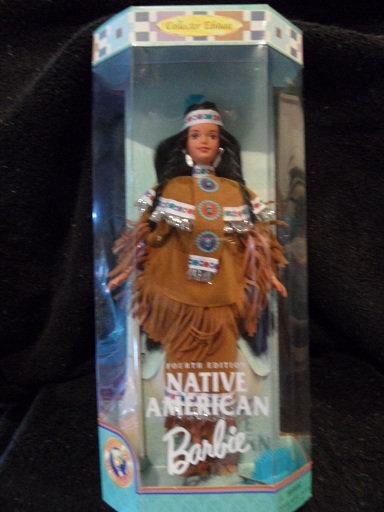 Native American Barbie - 4th in Series