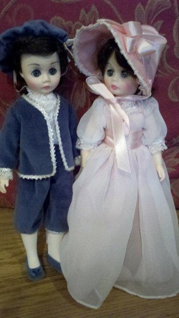 Pinkie and Blue Boy - Madame Alexander