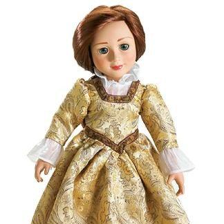 Carpatina Golden Princess Gown