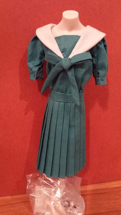 Bue/Green Sailor Dress for Princess Diana