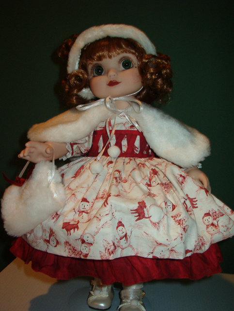Adora Belle Holiday 2003 - Marie Osmond - Retired