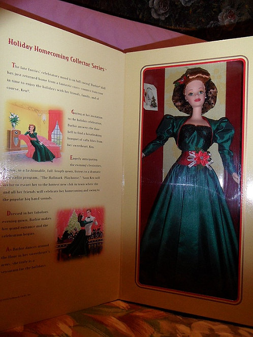 Hallmark Holiday Homecoming Barbie