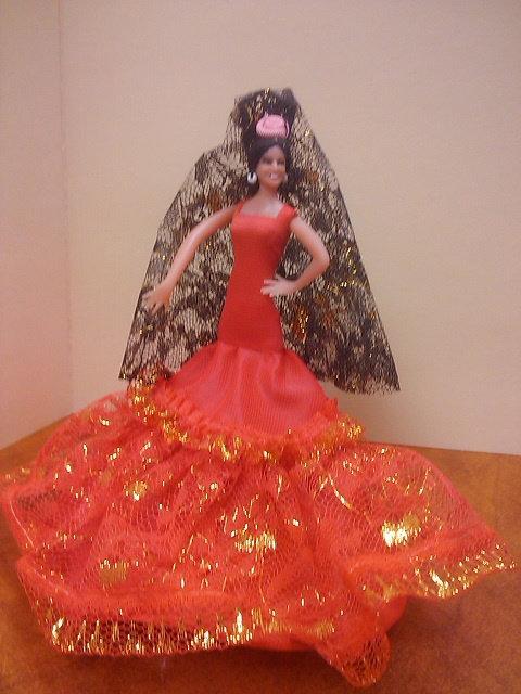 Spanish Dancer -- red