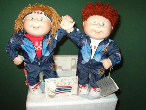 Danbury Mint- OlympiKids- Cabbage Patch Dolls