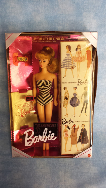 Blonde 1959 Ponytail Barbie