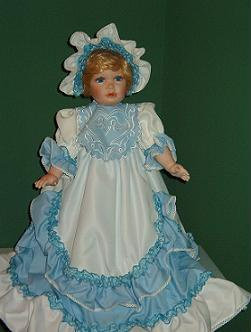 Trudy -  Porcelain Doll - William Tung