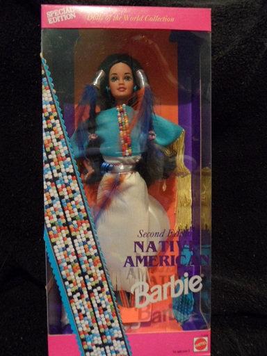 Native American Barbie - 2nd in series