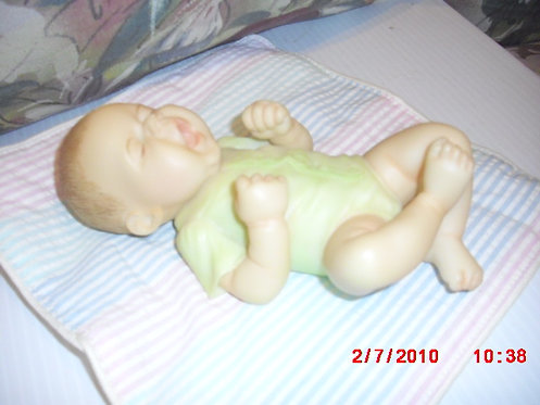 """""""All Tuckered Out"""" Baby Figurine"""
