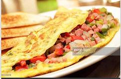 Omelet breakfast _ the Hopkins American