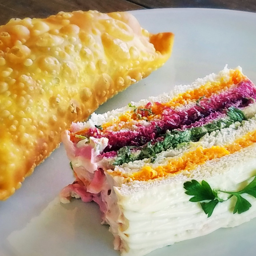 Torta e pastel de carne!!
