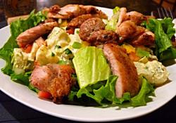 Salad Meal featuring Sobrecoxa