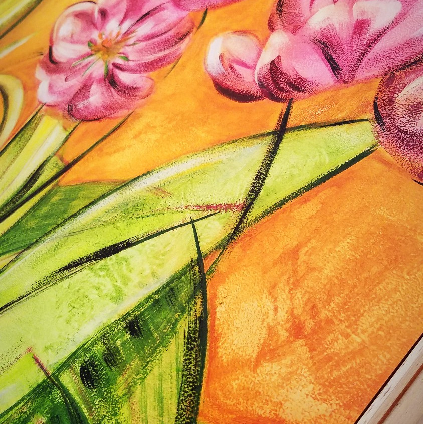 Amabile's painting