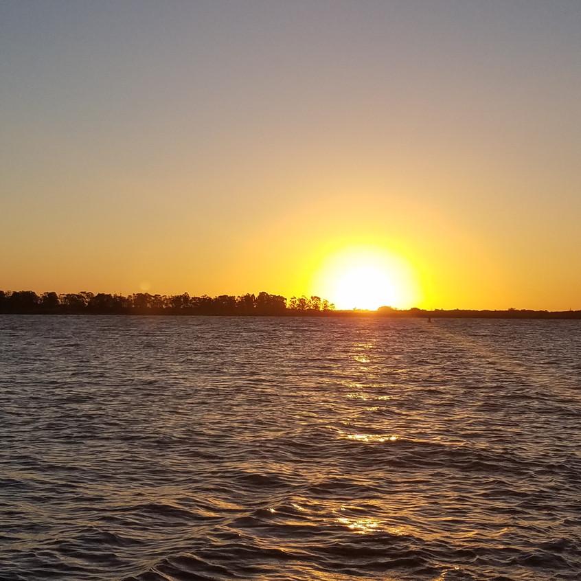 Sailing Sunset view!