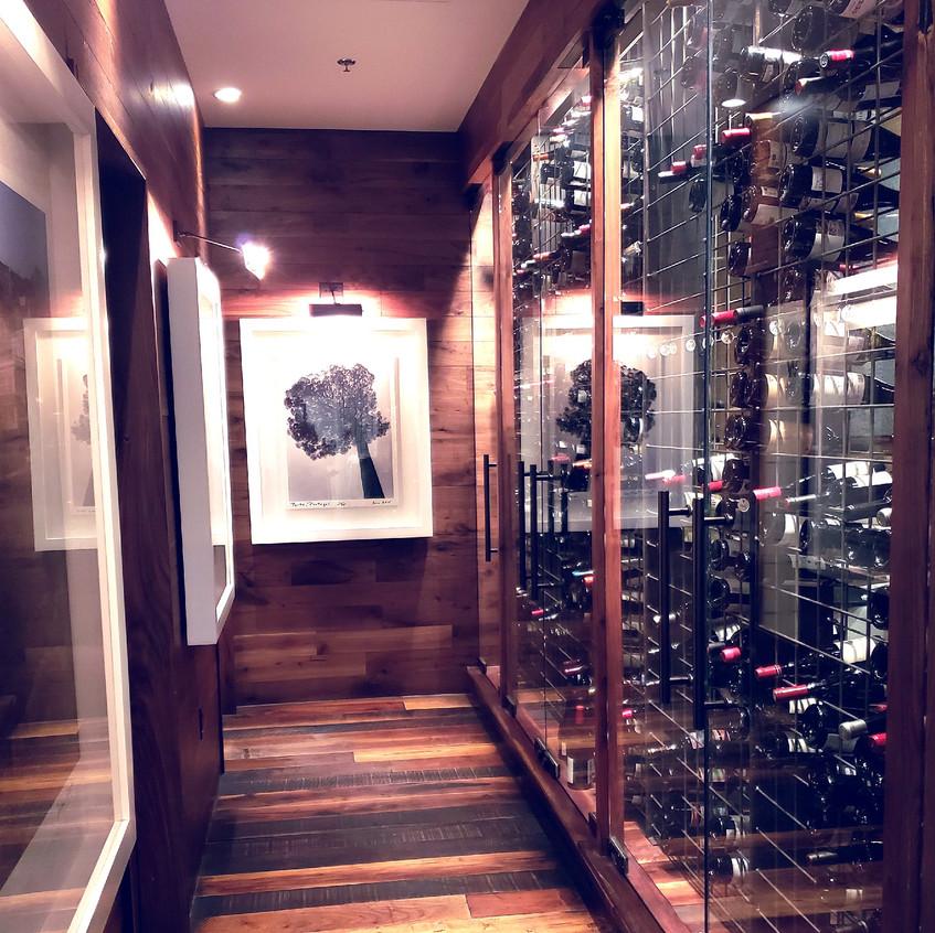 Wine hallway!!