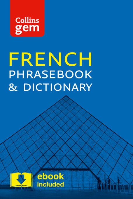 Collins Gem French Phrasebook Dictionary