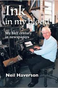 Ink in my Blood : My half century in newspapers