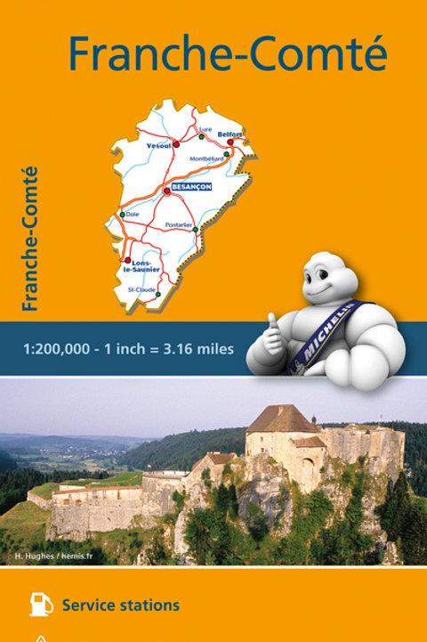 Franche Comté Map