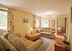 Briar Cottage Living Area