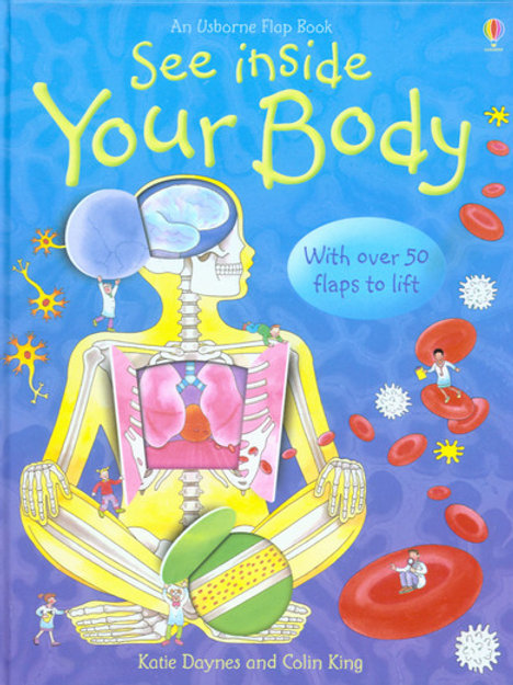 See Inside Your Body Flap Book HB