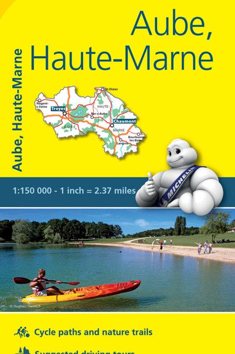 Aube Haute Marne Map
