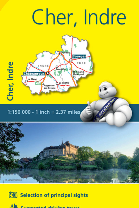 Cher Indre Map