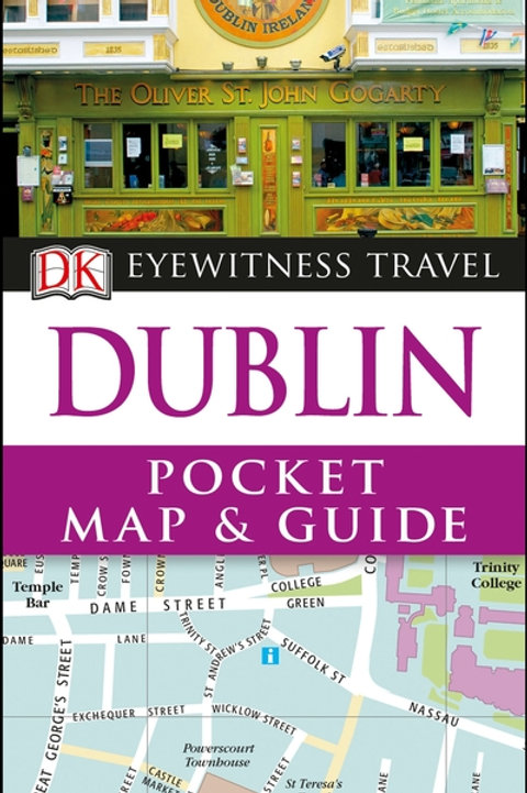 DK Eyewitness Pocket Map & Guide Dublin