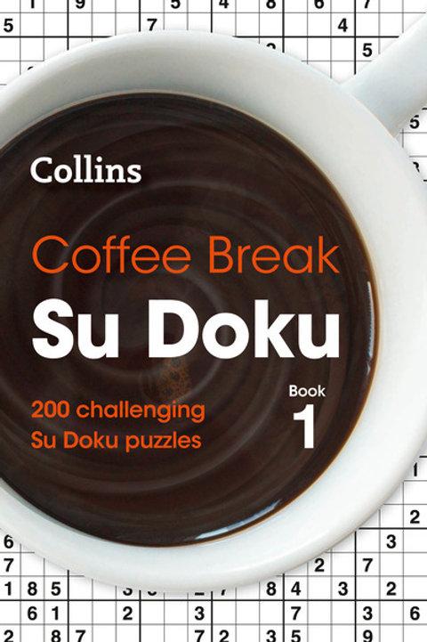 Coffee Break Su Doku book 1: 200 Challenging Su Doku Puzzles