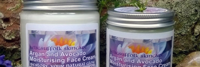 Argan & Avocado Moisturising Face Cream