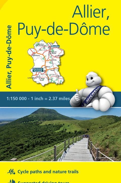 Allier Puy De Dôme Map
