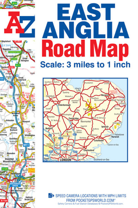 East Anglia Road Map 30th Ed