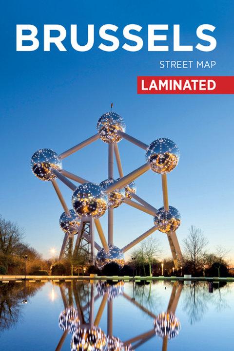 BrusselsCitymapLaminated