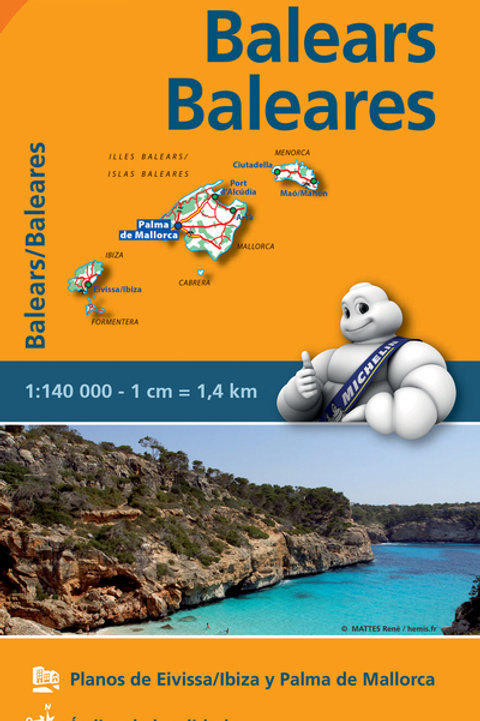 Balears Baleares REGIONAL Map 579