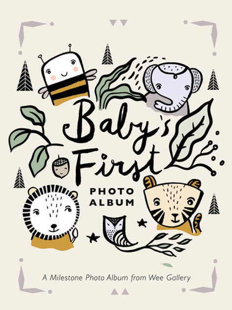 Baby's First Photo Album: A Milestone Photo Album from Wee Gallery