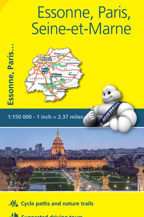 Essonne Paris Seine Et Marne Map