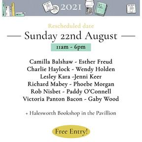 Sun 22nd August 11am-6pm - Low House Lit Fest