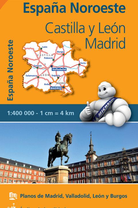 Castilla y Leon Madrid REGIONAL Map 575