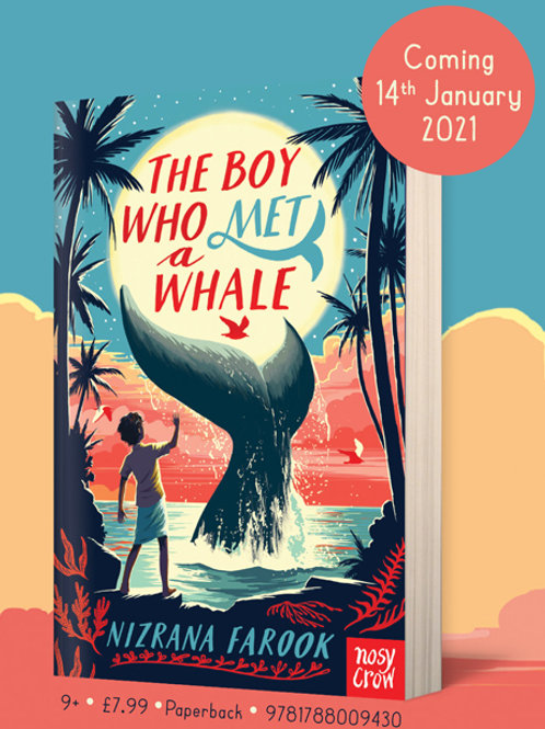 The boy who met a whale - Nizrana Farook