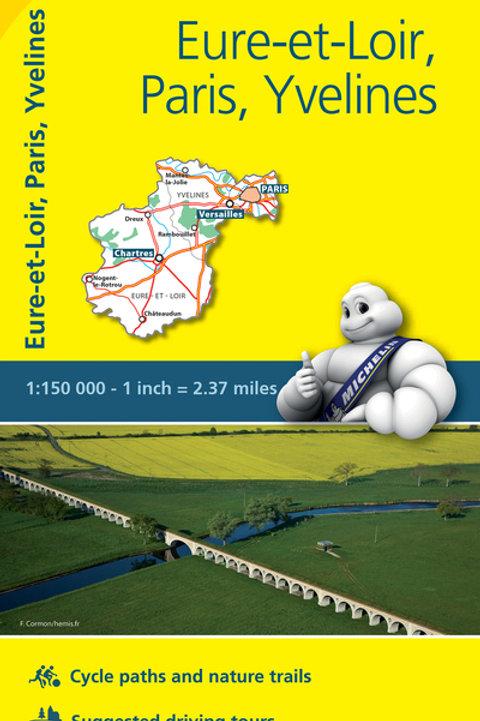Eure Et Loir Paris Yvelines Map