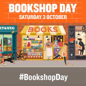 Saturday 3rd October is Bookshop Day! 20% off book purchases in the Bookshop