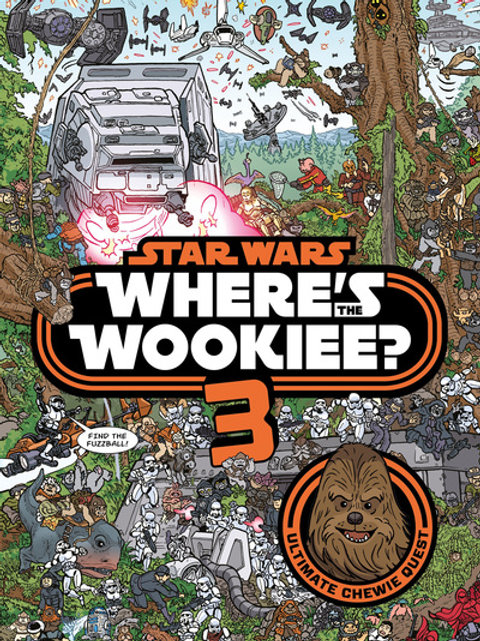 Star Wars: Where's the Wookiee 3? Search and Find Activity B