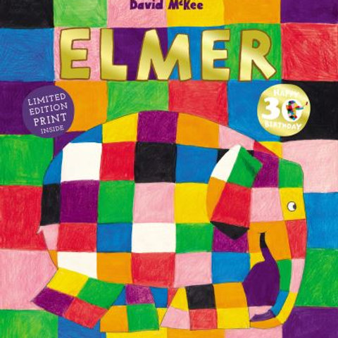 Elmer: 30th Anniversary Collector's Edition with Limited Edition Print