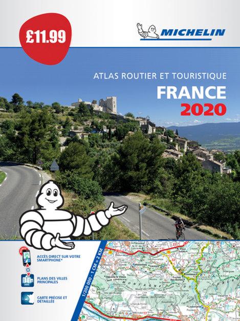 France 2020 - PB Tourist & Motoring Atlas