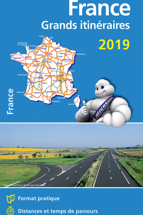 France Route Planning 2019 - Michelin National Map 726